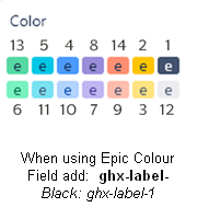 Jira Epic Colors