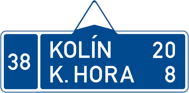 Czech Speedway Sign