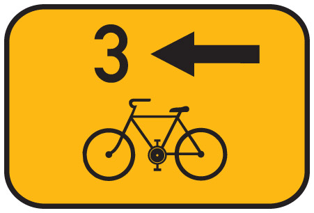 Czech Cycling Sign