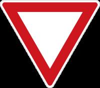 Czech Yield Sign