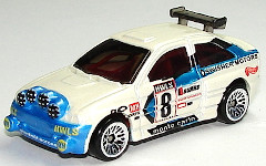 Hot Wheels 1998 First Editions Escort Rally